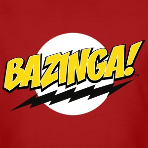 The Big Bang Theory Bazinga! Herre T-Shirt - Økologisk T-skjorte for menn