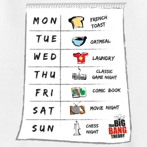The Big Bang Theory Calendrier de Sheldon Ado Tee  - T-shirt Ado