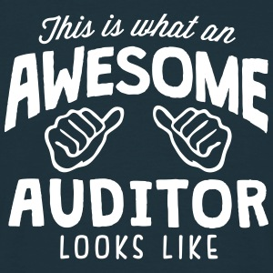 awesome auditor looks like - Men's T-Shirt