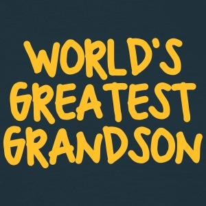 worlds greatest grandson - Men's T-Shirt