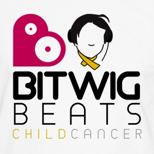 Bitwig Beats Child Cancer - Mens Tee - Men's Ringer Shirt