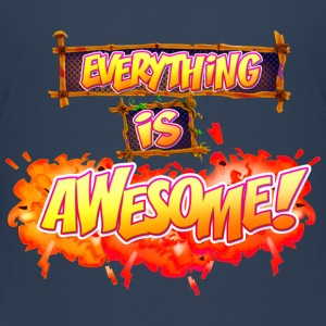 Everything is awesome! - Kids' Premium T-Shirt