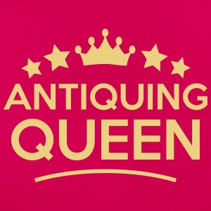 antiquing queen stars - Frauen T-Shirt
