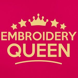 embroidery queen stars - Women's T-Shirt