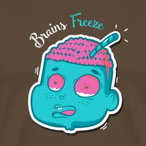 Brains freeze - T-shirt Premium Homme