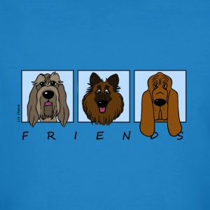Friends2 - Männer Bio-T-Shirt