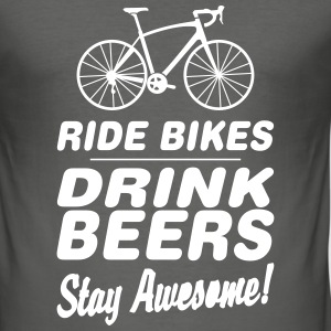 BBB ride bikes T-shirts - slim fit T-shirt
