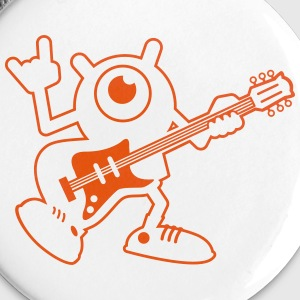 TheFunYbuddies - Jimy Rock&Roll / Badge - Small - Badge moyen 32 mm