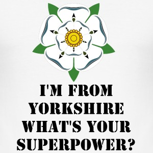 Yorkshire Superpower T-shirt - Men's Slim Fit T-Shirt