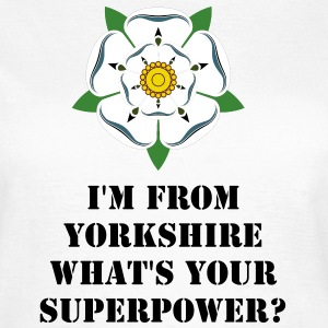 Women's Yorkshire Superhero T-Shirt - Women's T-Shirt