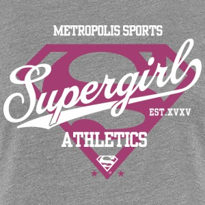Supergirl Metropolis Sports - Frauen Premium T-Shirt