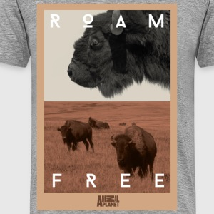 Animal Planet Bison Männer T-Shirt - Männer Premium T-Shirt