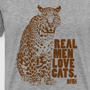 Animal Planet Leopard Men T-Shirt - Men's Premium T-Shirt