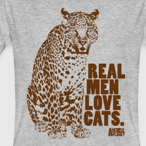 Animal Planet leopard T-shirt herr - Ekologisk T-shirt herr