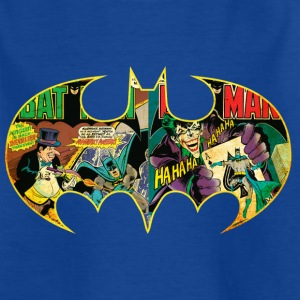 Batman Logo Comic T-shirt barn - T-shirt barn