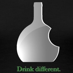 Damen T-Shirt - Drink different. - Frauen Premium T-Shirt