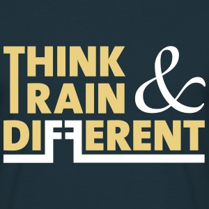 think and train different - Männer T-Shirt