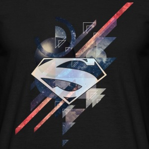 Superman Logo Galaxy T-shirt herr - T-shirt herr