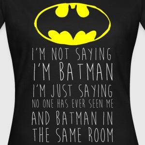 Batman Neon Logo Teenager Langarmshirt - T-skjorte for kvinner