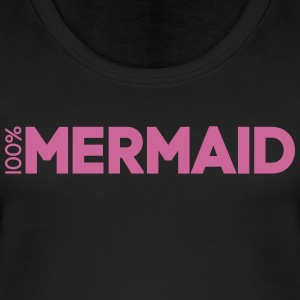 100%Mermaid - Frauen Bio Tank Top von Stanley & Stella