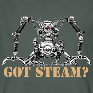 Got Steam? Men's Organic T-Shirt - T-shirt ecologica da uomo