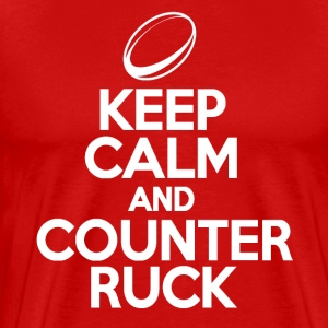 Keep Calm & Counter Ruck T-Shirts - Men's Premium T-Shirt