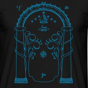 The doors of Durin - Men's T-Shirt