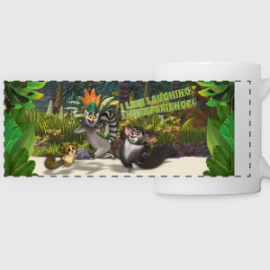 Madagascar King Julien Mug - Panoramic Mug