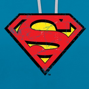 Superman Pop Teenager T-Shirt - Kontrastihuppari