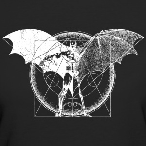 Batman Dark white Frauen T-Shirt - Frauen Bio-T-Shirt
