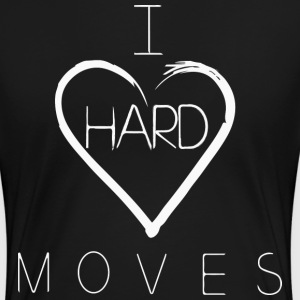 I H(e)ard Moves Backprint - Frauen Premium T-Shirt