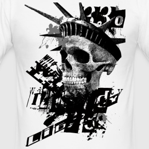 wild-liberty-black T-Shirts - Männer Slim Fit T-Shirt