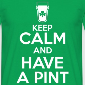 Keep Calm - Pint - Men's T-Shirt