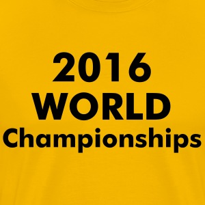 CYCLING WORLD CHAMPIONSHIPS 2016 - Men's Premium T-Shirt