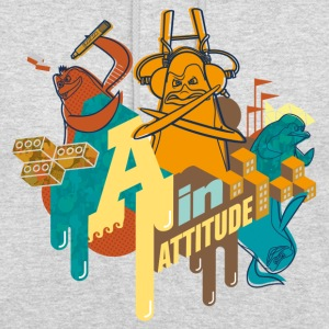 Penguins of Madagascar A in Attitude Hoodie - Unisex Hoodie