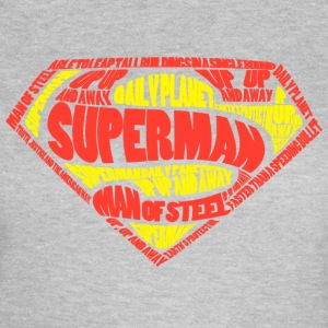Superman Logo Women T-Shirt - Vrouwen T-shirt