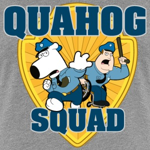 Family Guy Brian and Joe Quahog Squad Women T-Shir - Premium-T-shirt dam