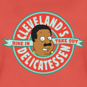 Family Guy Cleveland's Delicatessen Women T-Shirt - Premium-T-shirt dam