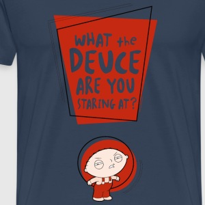 Family Guy Stewie What the Deuce Männer T-Shirt - Männer Premium T-Shirt