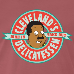 Family Guy Cleveland's Delicatessen Men T-Shirt - Men's Premium T-Shirt