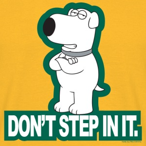 Family Guy Brian Don't Step In It homme tee shirt - T-shirt Homme