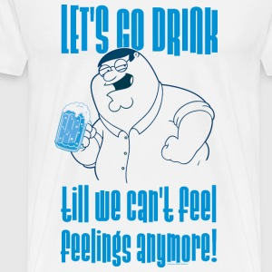 Family Guy Peter Griffin Let's go Men T-Shirt - Maglietta Premium da uomo