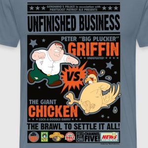 Family Guy Peter Griffin Unfinished Business Men T - Premium-T-shirt herr