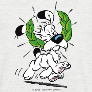 Asterix & Obelix - Idefix with laurel wreath Men's - Herre T-shirt med V-udskæring