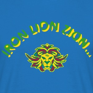 T-shirt Normal Lion Iron Lion Zion - T-shirt Homme
