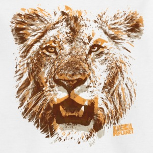 Animal Planet Lion Head Kid's T-Shirt - Kids' T-Shirt