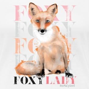 Animal Planet Foxy Frauen T-Shirt - Frauen Premium T-Shirt