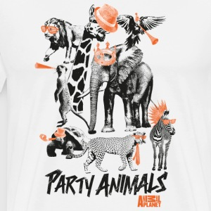 Animal Planet Party Animals Männer T-Shirt - Männer Premium T-Shirt