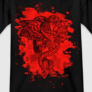 Griffon & Dragon - bleached red - Kinder T-Shirt