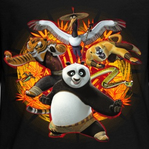Kung Fu Panda Master Group Teenage Longsleeve Shir - Teenagers' Premium Longsleeve Shirt